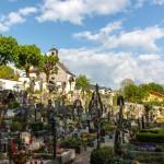 Санкт- Вольфгант. Кладбище