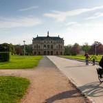 Дрезден. В парке