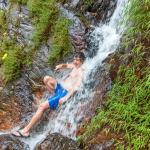 Учитывая жару, очень приятно принять прохладный душ природы