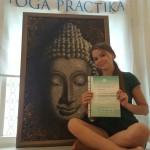 Йога в Казани Yogalena диплом