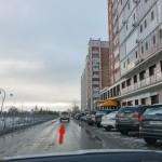 На Абсалямова можно поставить авто, осталось 50 метров до студии