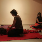 Массаж в студии йоги yogalena