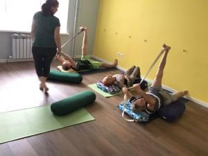 Классы йоги для людей старшего возраста в Казани