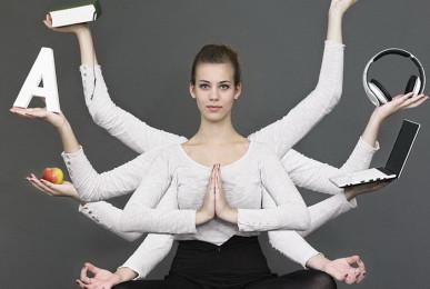 Работа в студии йоги Yogalena