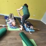 Класс йоги старшего возраста